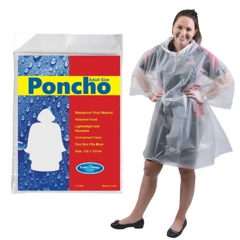 Umbrellas & Poncho