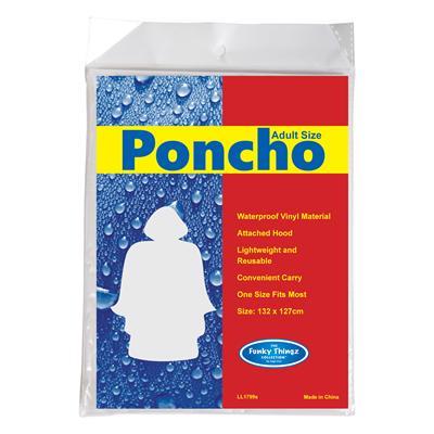 Promotional poncho